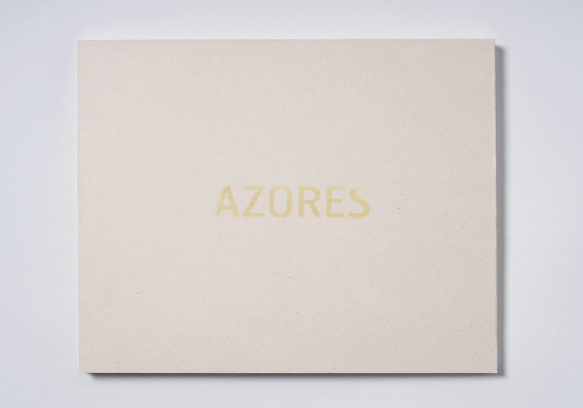 Azores  Book design for Márcio Vilela