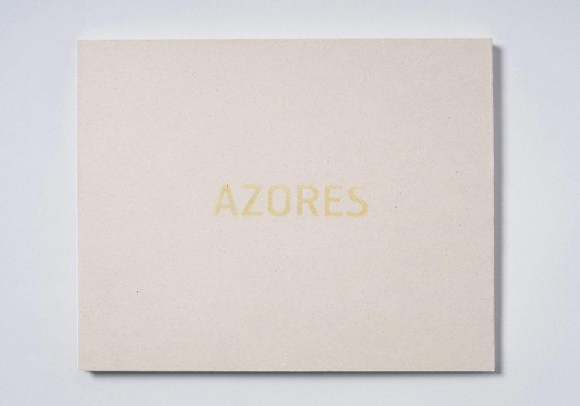 Azores  Book design for Márcio Vilela