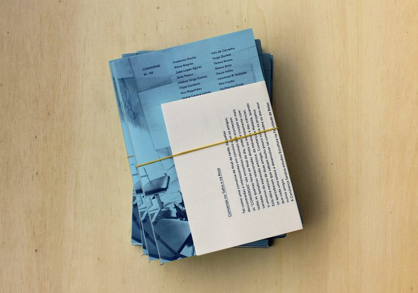 Conversas Lisboa, Graphic design – editions XI to XX